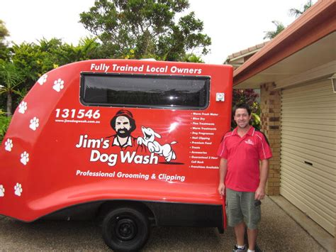 local mobile groomers jim s wash in parkwood qld pet groomers truelocal
