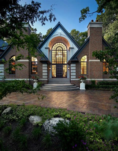 who designs homes 16 transitional exterior designs of homes you ll