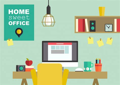 home interior vector be the boss of your home office mamachallenge com