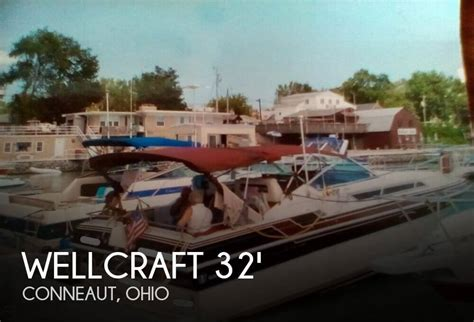 boats for sale conneaut ohio sold wellcraft st tropez 3200 ex boat in conneaut oh