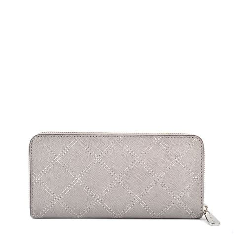 Mk Jetset Travel Pearl Grey michael michael kors jet set travel pearl grey continental wallet michael michael kors from