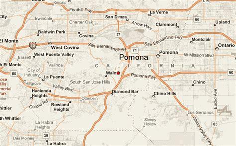 california map pomona pomona location guide