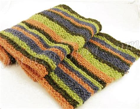 striped knit scarf pattern striped knit scarf pattern patterns gallery