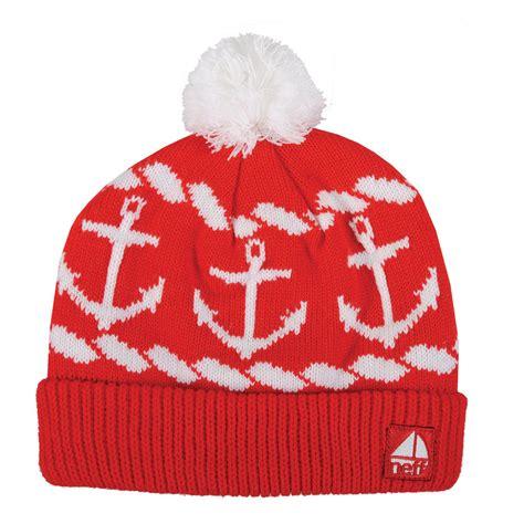 sailor knit cap neff sailor ahoy anchors nautical knit beanie cap hat