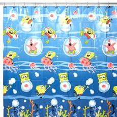 spongebob squarepants shower curtain spongebob squarepants on pinterest spongebob