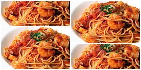 resep boenda nur resep spageti ala jajanan anak sd modal