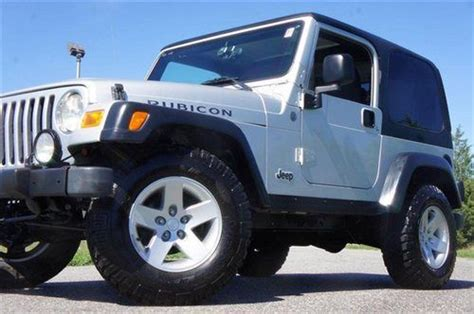 Jeep Tires For Sale Sell Used 2004 Jeep Wrangler Rubicon For Sale Low
