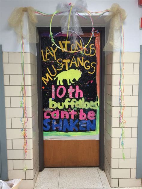 Homecoming Door Decorating Ideas by Homecoming Door Decorating Homecoming Week