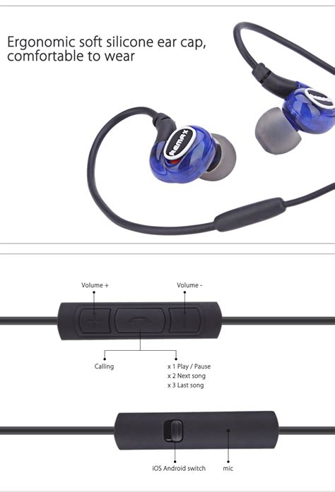 Remax Sport Earphone Rm S1 Pro remax rm s1 pro in ear wired sport e end 5 18 2018 2 29 pm