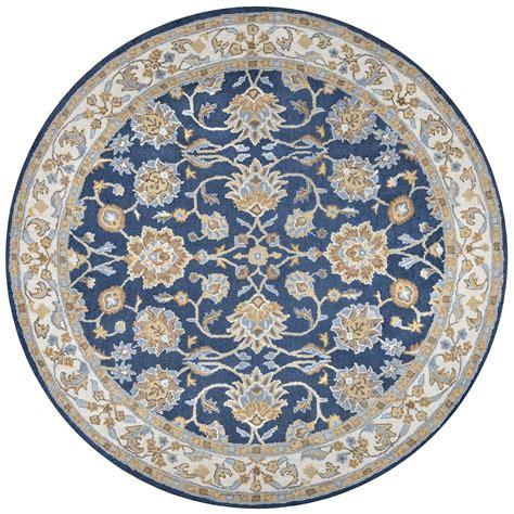 10 By 10 Rug - ashlyn traditional border new zealand wool rug in
