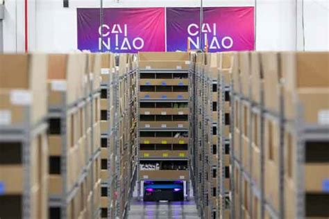 alibaba warehouse alibaba s delivery arm opens smart warehouses for shopping