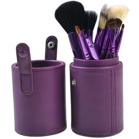 Tabung Kuas Make Up Brush Set 12 In 1 Bulu Gr Terbaru kuas make up 12 set dengan purple jakartanotebook