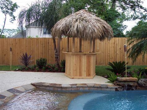 Tiki Hut Cost Custom Made Palm Trees Economical Tiki Huts Bars