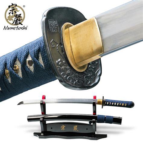 Handmade Wakizashi - munetoshi water handmade wakizashi sword dh 1060