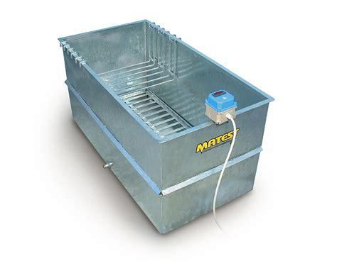 vasca in vasche per stagionatura di provini in calcestruzzo matest