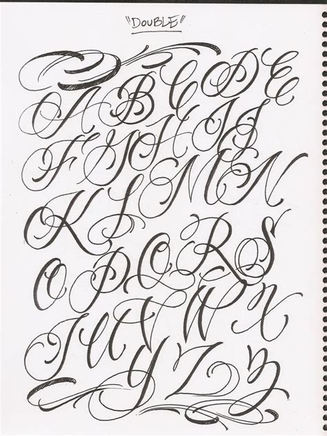 tattoo fonts loose cursive 1000 images about 176 schriftarten 176 on