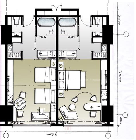 layout for hotel hotel plan plans pinterest