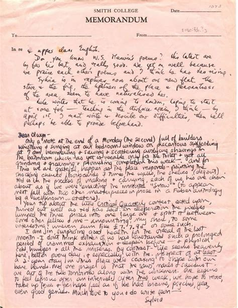 Sylvia Plath Letters the lost letters of sylvia plath washington square news
