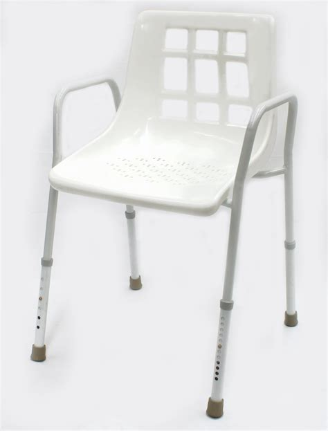 Shower Chair With Arms by Shower Chair With Arms Back Mmbw10501 More Mobility