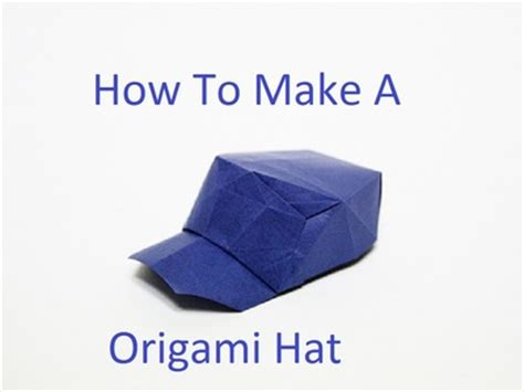 How To Make A Origami Hat - make a paper flower bouquet diy crafts