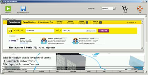 Yellow Pages Address Finder Yellow Pages Data Software Touche Yellow Pages