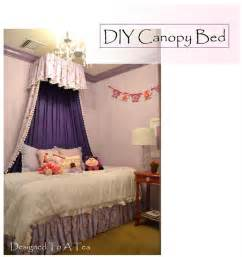 Diy Canopy Bed Diy Bedroom Canopy On Canopy Beds Canopies