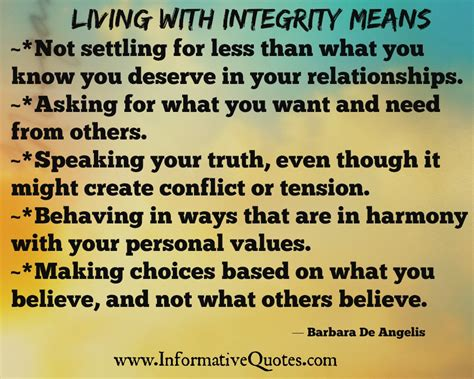 what does it mean when someone is sectioned moral integrity quotes quotesgram