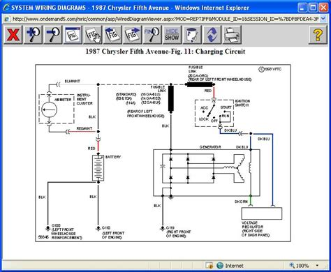 external voltage regulator wiring diagram for chrysler