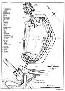 leeds castle plan by e stanford the history and