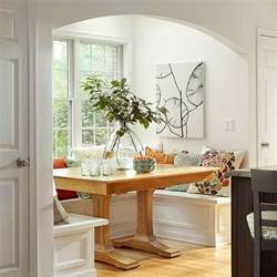 Small Kitchen Nook Ideas Modern Furniture 2014 Comfort Breakfast Nook Decorating Ideas