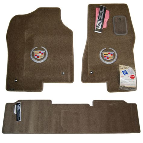 cadillac escalade ext shale floor mats set 2002 2003
