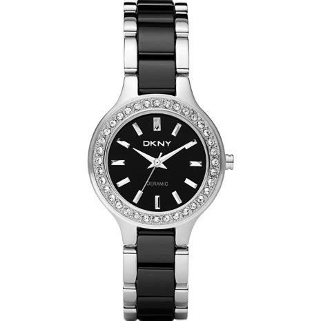 Black Ceramic Series Dkny dkny ny8138 broadway small ceramic black