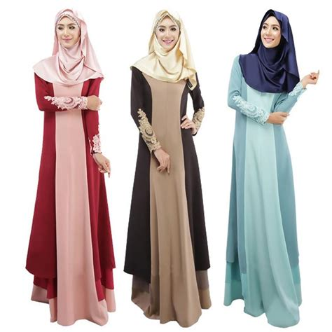 Abaya Motif Muna Abaya Arab Baju Muslim Baju Muslimah 1 abaya turkish clothing muslim dress islamic jilbabs and abayas musulmane vestidos longos