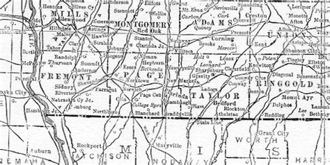 Ta Marriage Records Surrounding Area Map Of County Iowa