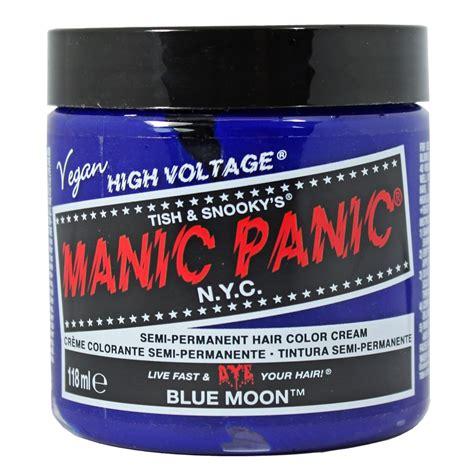 Manic Panic Nyc Semi Permanent Hair Color Bad Boy Blue Classic manic panic creamtone classic lified semi permanent bright hair dye vegan ebay