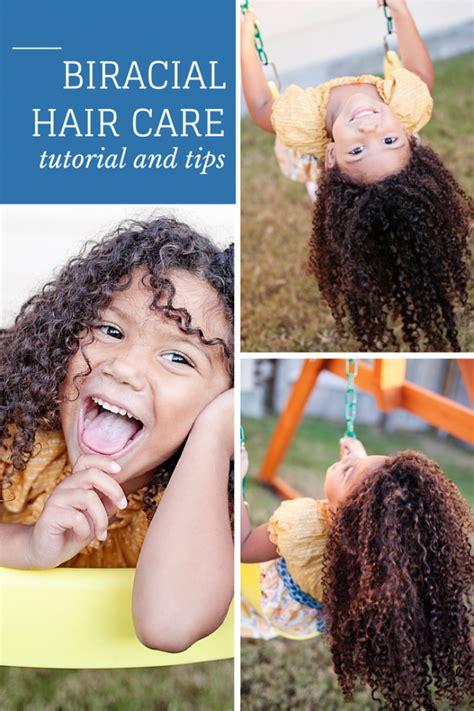how to care for mixed teen boy hair biracial hair care routine for kids