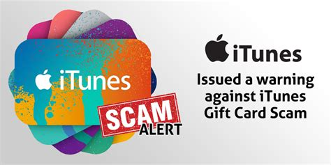 apple issued warning against itunes gift card scam