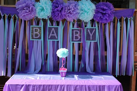 Turquoise Baby Shower by Purple Turquoise Baby Shower Purple Turquoise Baby