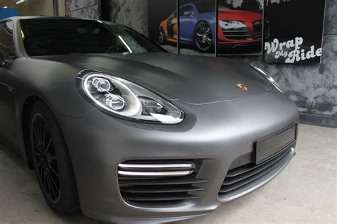 porsche wrapped porsche panamera gts full wrap in gunpowder wrap my ride