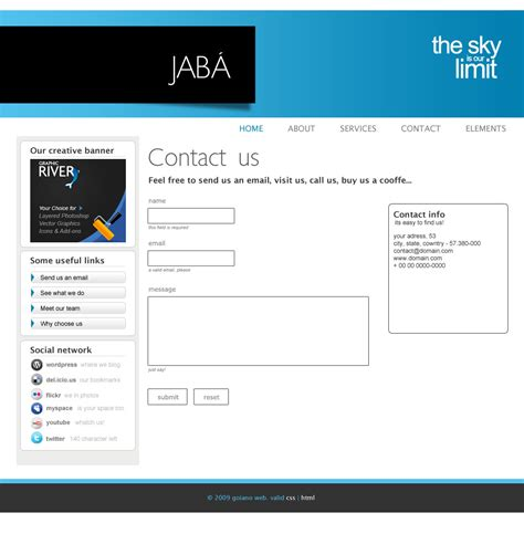 themeforest contact support jaba corporation by jonatanfroes themeforest