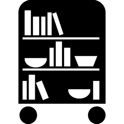 da letto gratis biblioteca da letto di ruote con i libri scaricare icone