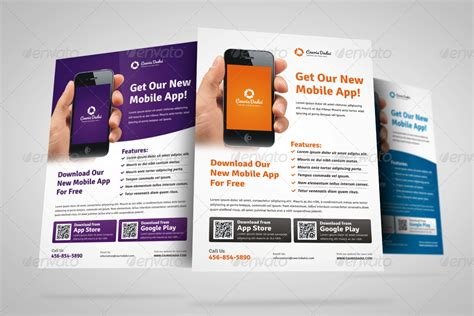 design flyer app mobile apps promotion flyer ad design by jbn comilla