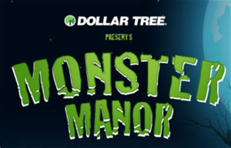 Dollar Tree Sweepstakes - the dollar tree s monster manor halloween game sweepstakes win a 100 dollar tree