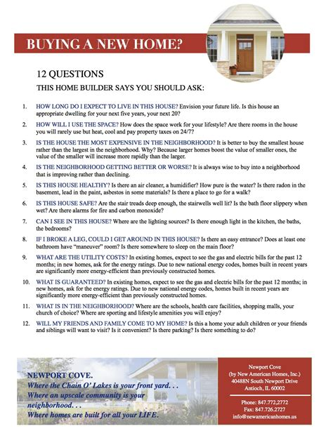 questions to ask when buying a house what questions to ask when buying a new build house 28