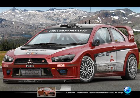 ralliart wallpaper lancer evo x ralliart wrc by capidesign on deviantart