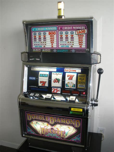 igt double diamond deluxe  slot machine flat top  sale gamblers oasis usa