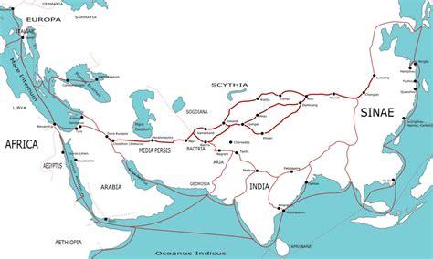 silk road map file silk route map jpg