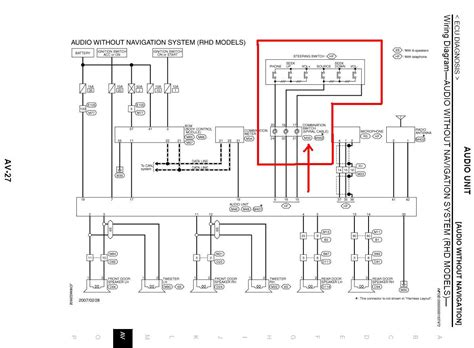 nissan x trail t30 radio wiring diagram wiring diagrams