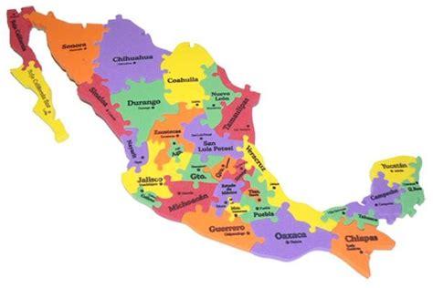 la repblica y sus mapa de la republica mexicana