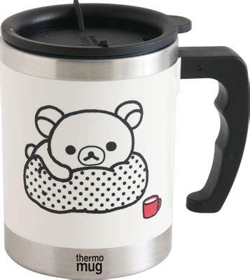 Rilakkuma Thermo Mug amiami character hobby shop ky48201 monochrome
